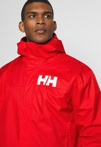 Helly Hansen - ACTIVE JACKET - Regnjacka - alert red - 4