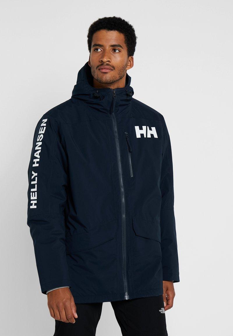 Helly Hansen - ACTIVE FALL PARKA - Hardshelljacke - navy