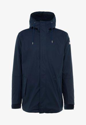 MOSS INSULATED RAIN COAT 2-IN-1 - Waterproof jacket - navy