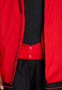 Helly Hansen - STRAIGHTLINE LIFALOFT JACKET - Snowboardová bunda - alert red - 3