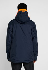 Helly Hansen - STRAIGHTLINE LIFALOFT JACKET - Snowboardová bunda - navy - 2
