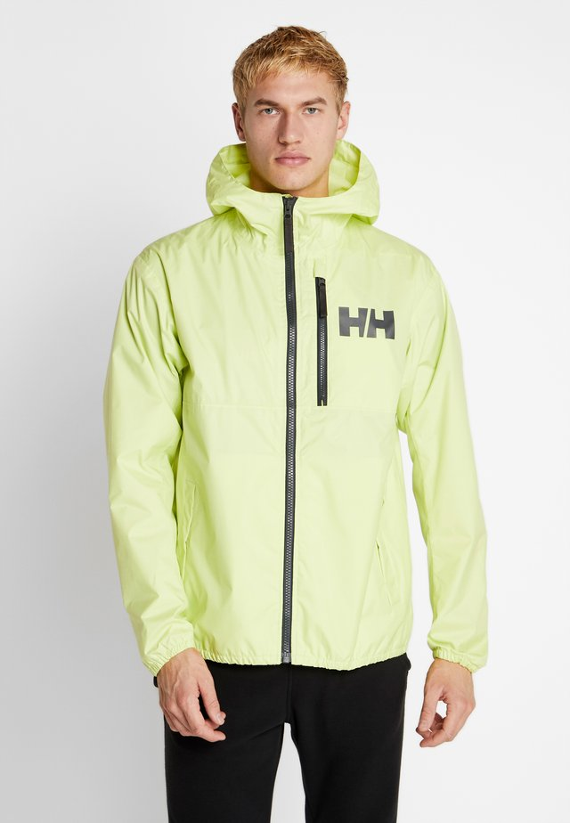 BELFAST PACKABLE JACKET - Waterproof jacket - sunny lime