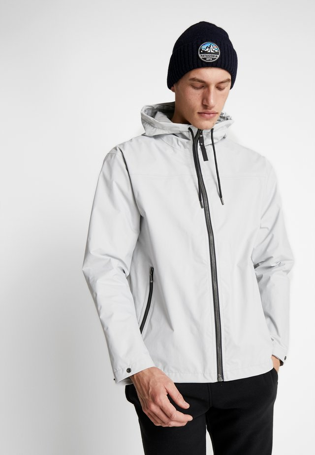 URBAN RAIN JACKET - Waterproof jacket - grey fog