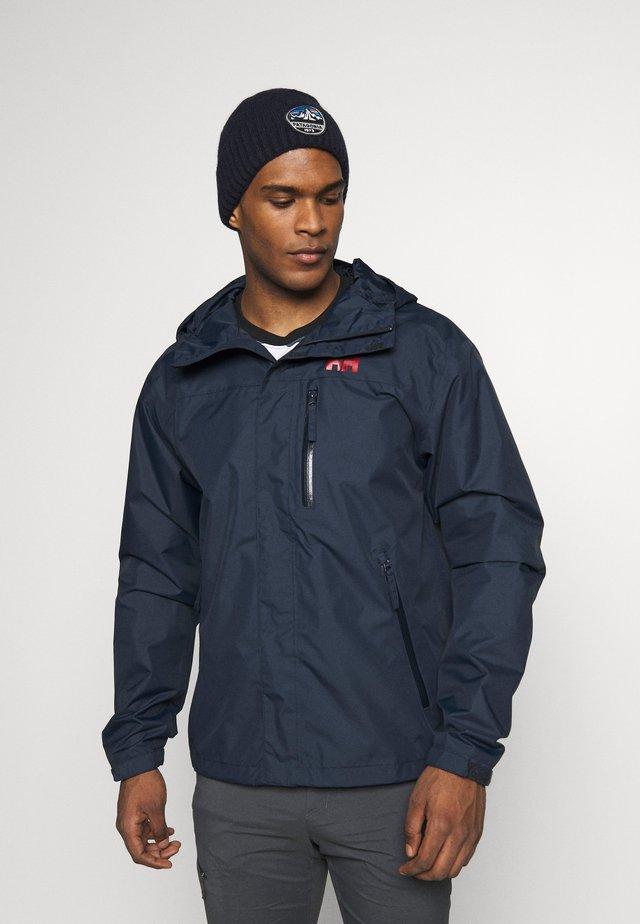 VANCOUVER JACKET - Hardshell jacket - navy