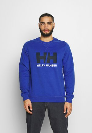LOGO CREW  - Sweatshirt - royal blue