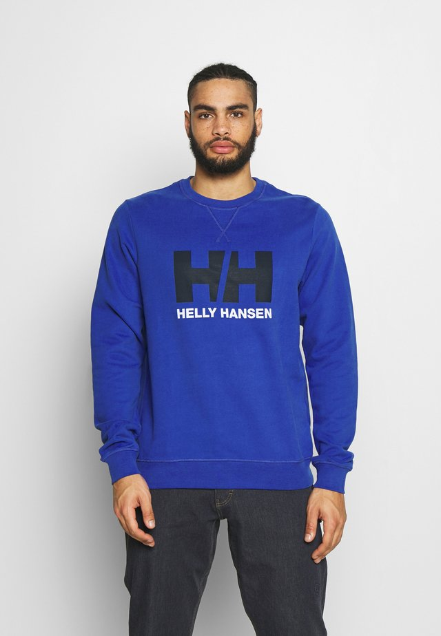 LOGO CREW  - Sweatshirt - royal blue
