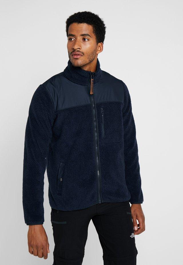 PILE JACKET - Fleece jacket - navy