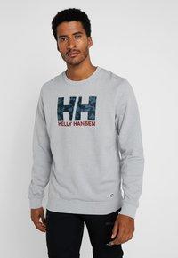 Helly Hansen - SWEATER - Sweatshirt - grey - 0