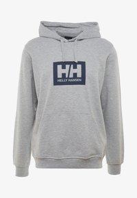 Helly Hansen - TOKYO HOODIE - Hoodie - grey melange - 4
