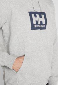 Helly Hansen - TOKYO HOODIE - Hoodie - grey melange - 5