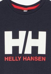 Helly Hansen - LOGO - T-shirt med print - navy - 3