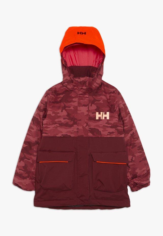 SWEET FROST JACKET - Ski jacket - cabernet