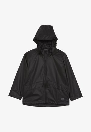 VOSS JACKET - Impermeable - black