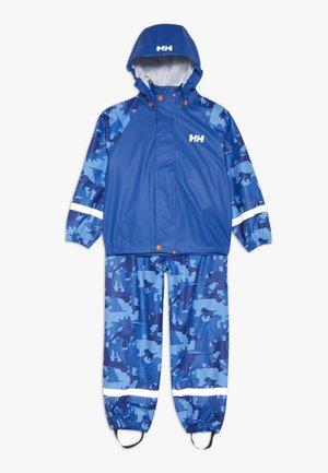 BERGEN RAINSET - Vodotěsná bunda - olympian blue