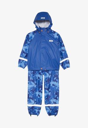 BERGEN RAINSET - Kurtka przeciwdeszczowa - olympian blue