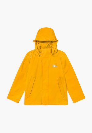 MOSS JACKET - Vodotěsná bunda - essential yellow