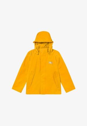 MOSS JACKET - Regnjacka - essential yellow