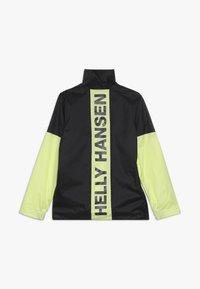 Helly Hansen - ACTIVE RAIN ANORAK - Regnjakke / vandafvisende jakker - ebony - 2
