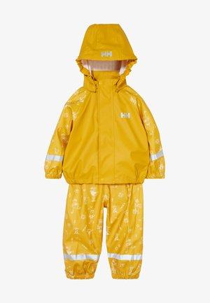 BERGEN RAIN SET - Impermeabile - essential yellow