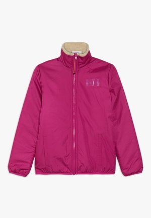 REVERSIBLE PILE JACKET - Outdoorjas - festival fuchsia