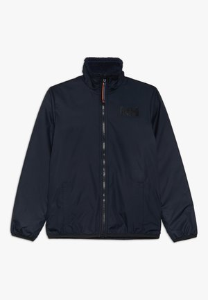 REVERSIBLE PILE JACKET - Outdoorjas - navy