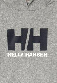 Helly Hansen - LOGO HOODIE - Luvtröja - grey melange - 3