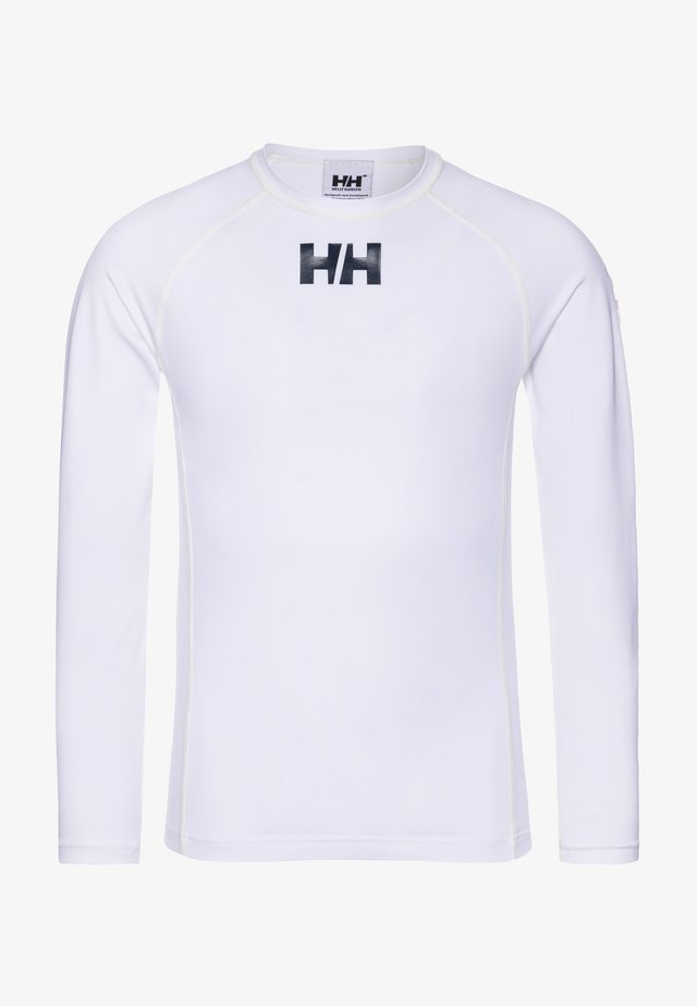 WATERWEAR RASHGUARD - Long sleeved top - white