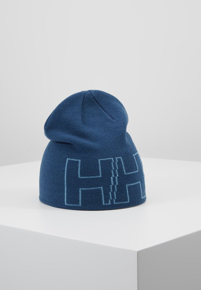 OUTLINE BEANIE - Beanie - north sea blue