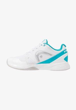 SPRINT 2.5 CARPET WOMEN - Zapatillas de tenis para moqueta sintética - white