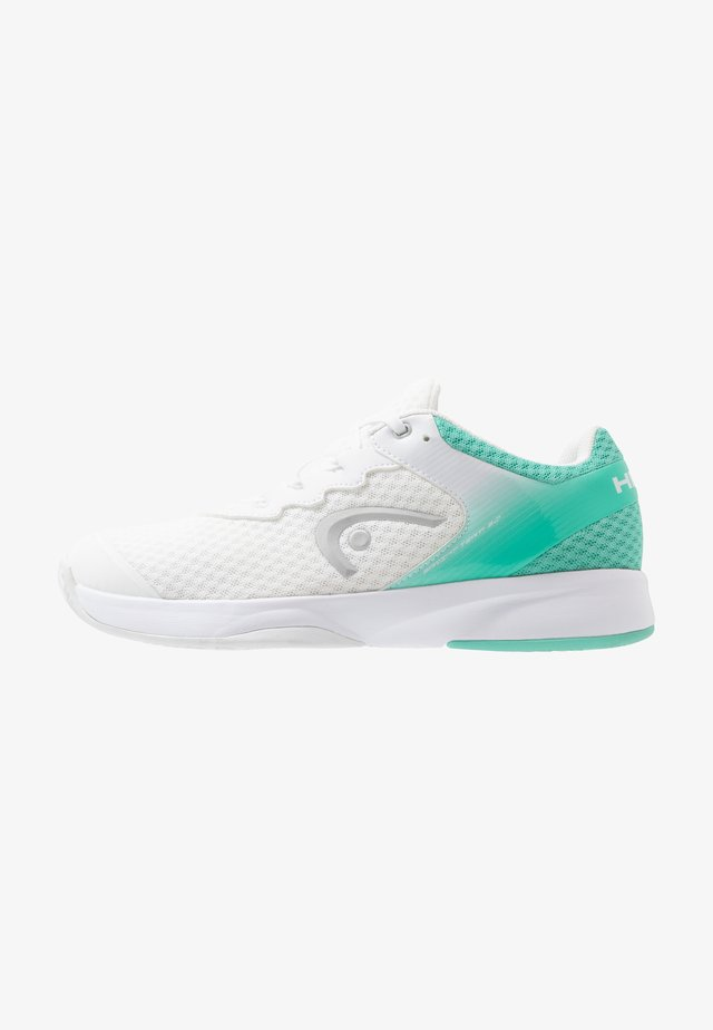 SPRINT TEAM 3.0 - Tennissko til multicourt - white/teal
