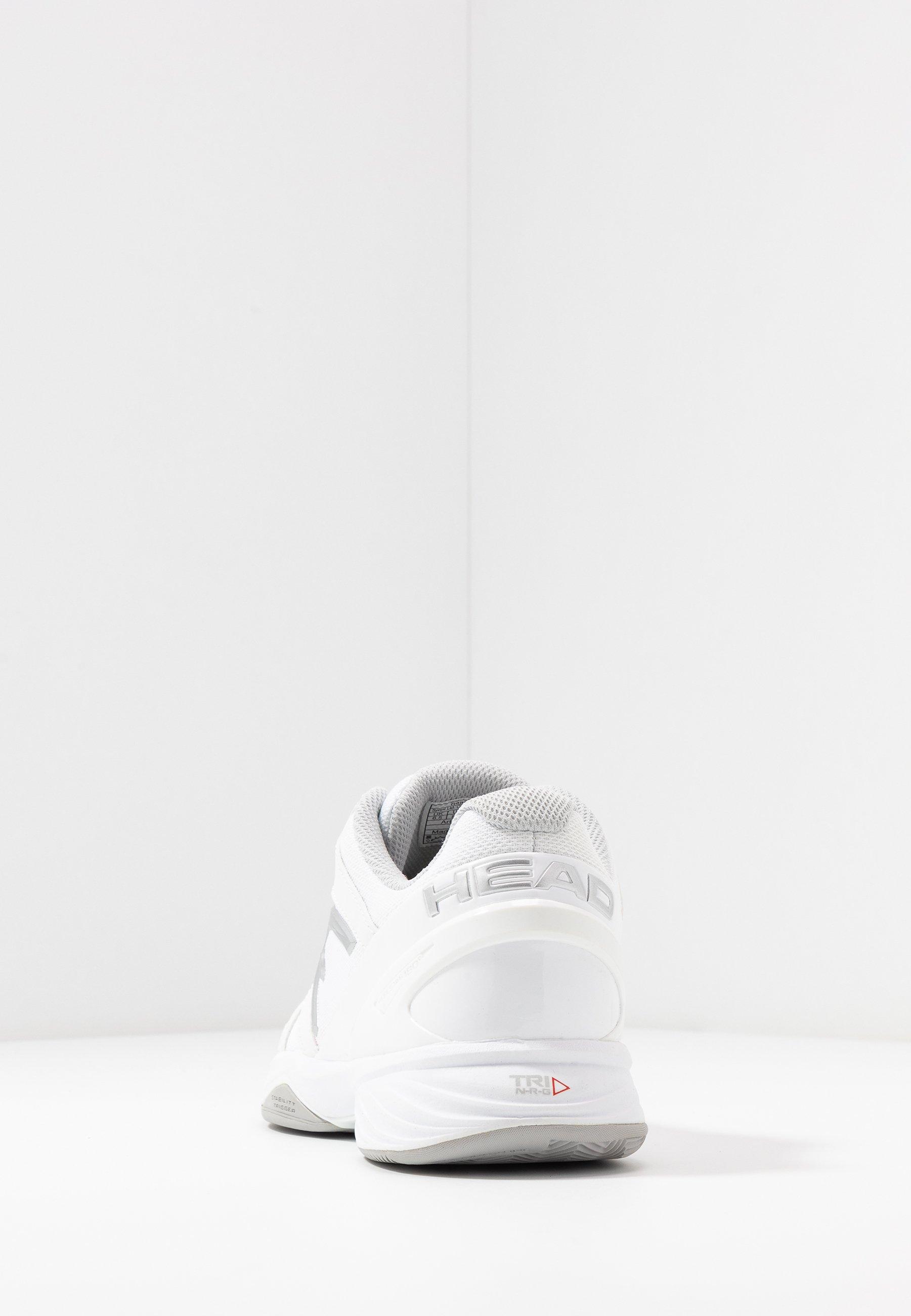 Head SPRINT LTD CLAY - Tennisskor för grus - white/grey