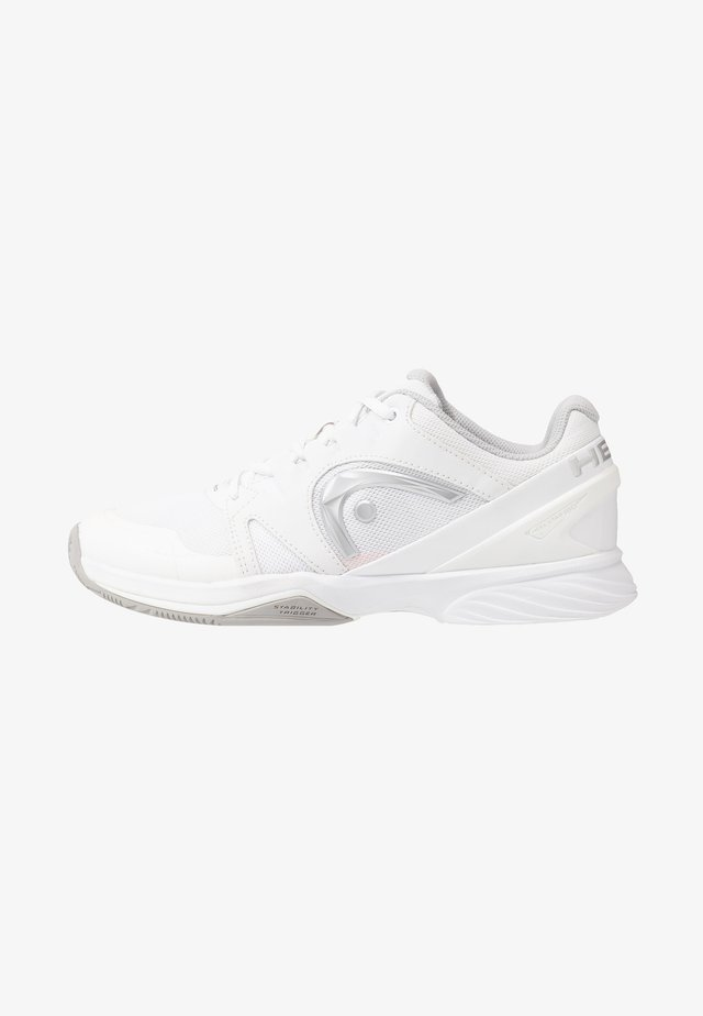 SPRINT LTD CLAY - Tennisskor för grus - white/grey