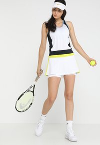 Head - TALIA TANK - Linne - white/yellow - 1