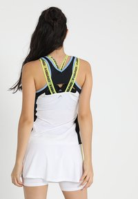 Head - TALIA TANK - Linne - white/yellow - 2