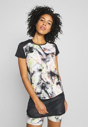 SAMMY - T-shirt z nadrukiem - caleido grey/black