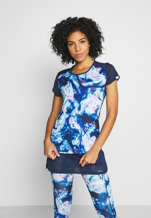 SAMMY - T-shirts print - caleido royal/dark blue