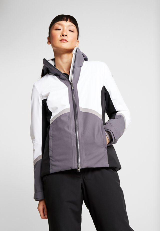 COSMOS JACKET - Veste de ski - white/black