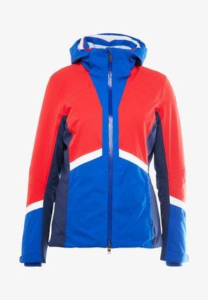 COSMOS JACKET - Skijacke - red/royal blue