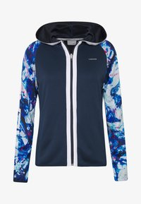 Head - ACTION HOODIE - Sportovní bunda - dark blue/caleido royal - 5