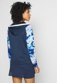 Head - ACTION HOODIE - Sportovní bunda - dark blue/caleido royal - 2
