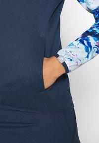 Head - ACTION HOODIE - Sportovní bunda - dark blue/caleido royal - 6