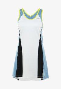 Head - FIONA DRESS - Sukienka sportowa - white/yellow - 5
