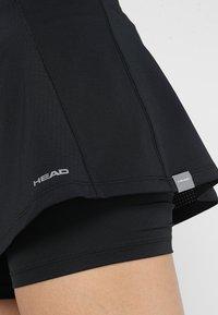 Head - EMMA SKORT  - Sportovní sukně - black - 4