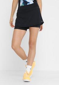Head - EMMA SKORT  - Sportovní sukně - black - 0
