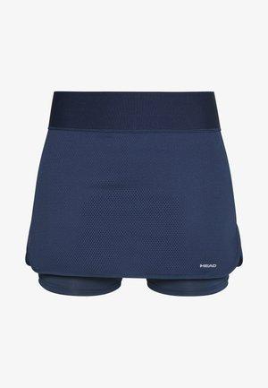 SMASH SKORT - Sportovní sukně - black/caleido grey