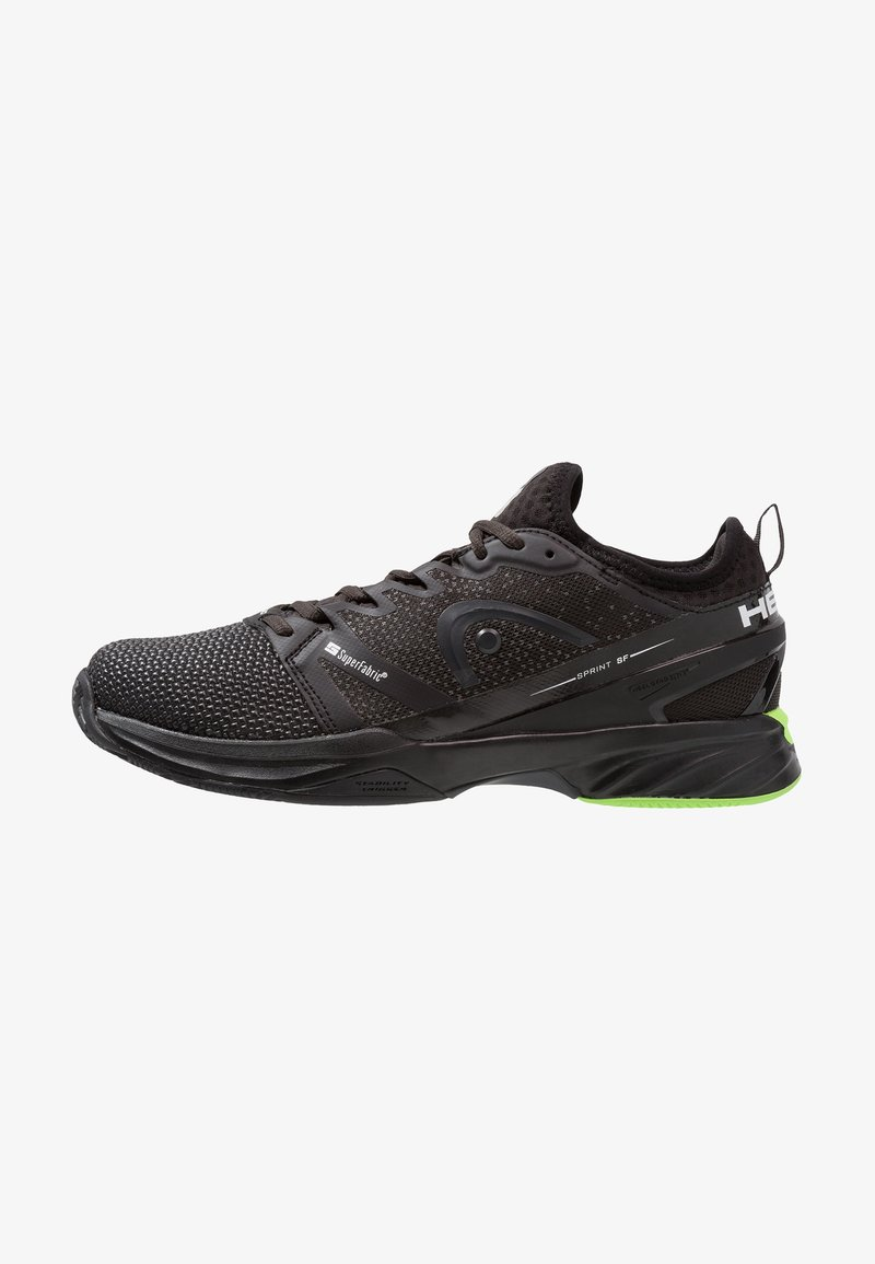 Head - SPRINT SF CLAY MEN - Clay court tennis shoes - black/green