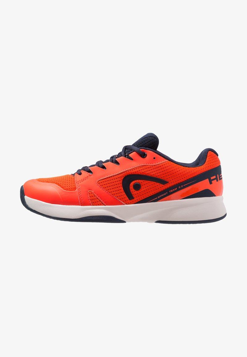 Head - SPRINT TEAM 2.5 MEN - All court tennisskor - neon red/dark blue