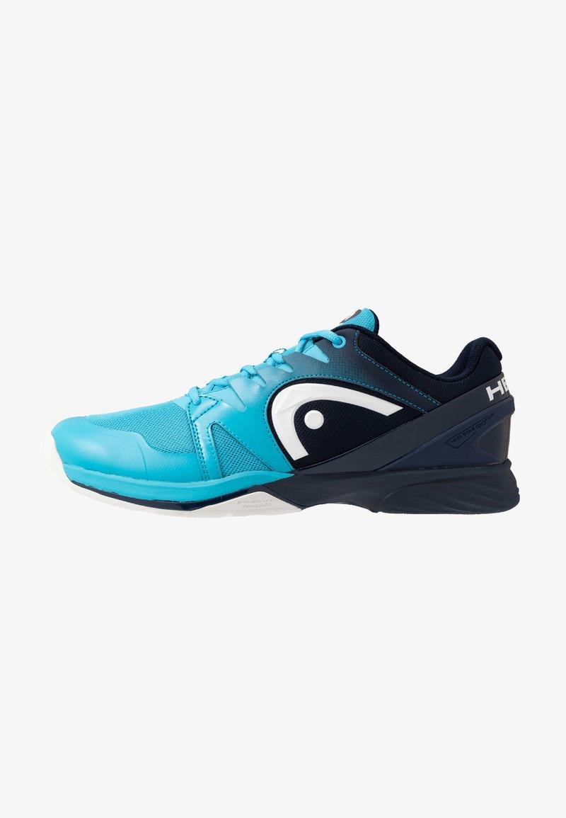 Head - SPRINT 2.5 CARPET MEN - Carpet court tennis shoes - blue