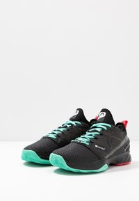 Head - SPRINT SF CLAY MEN - Clay court tennis shoes - black/teal - 2