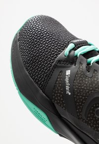 Head - SPRINT SF CLAY MEN - Clay court tennis shoes - black/teal - 7